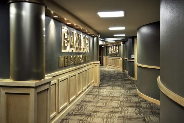 Baylor University Locker Rooms